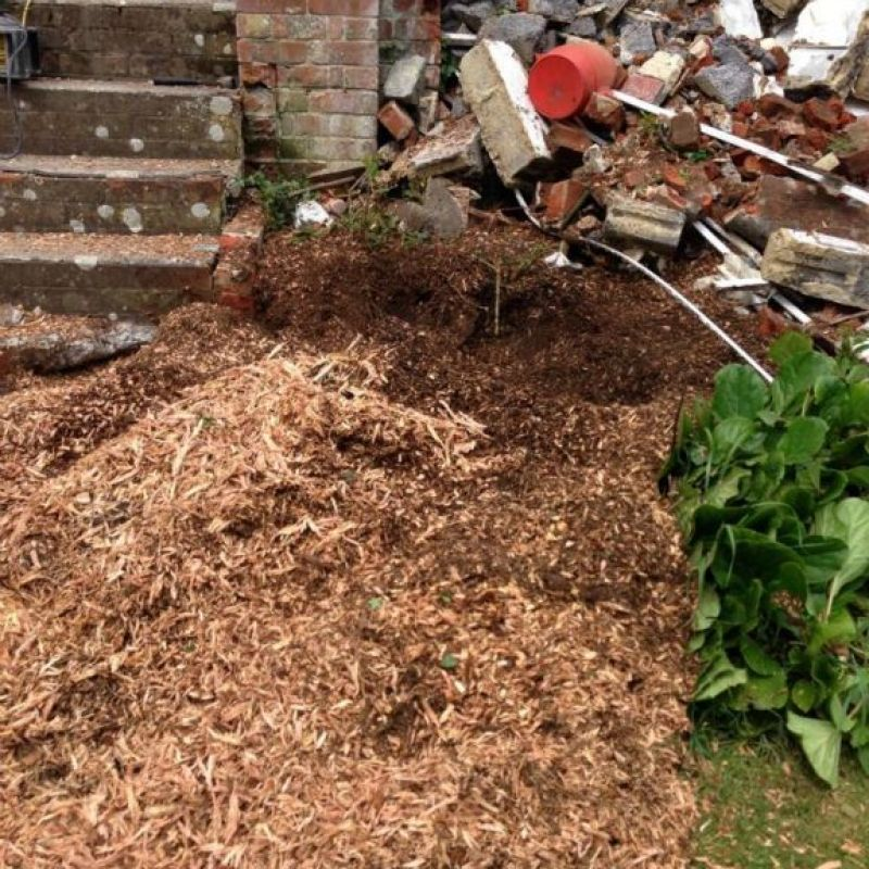 Houtsnippers / Mulch